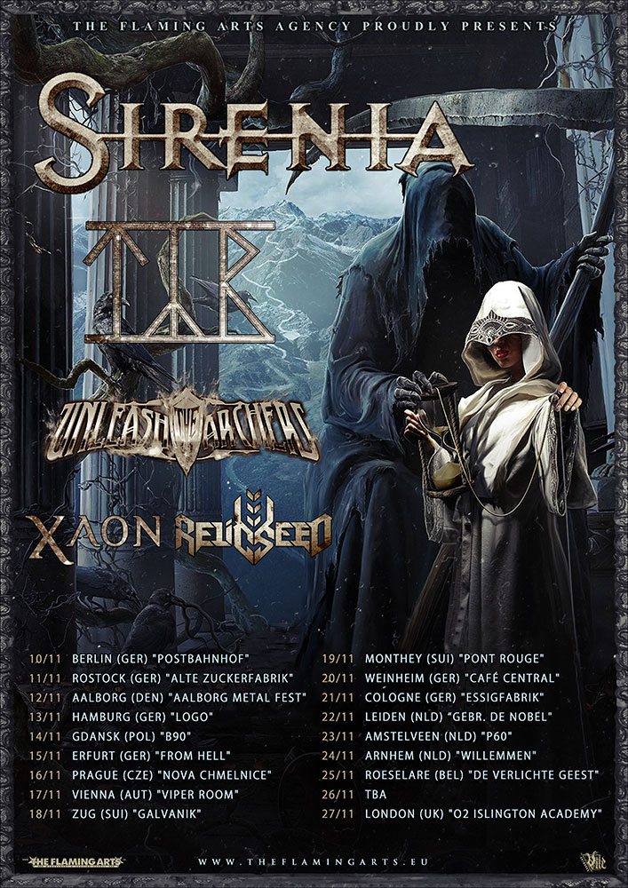 Image result for sirenia tour 2016